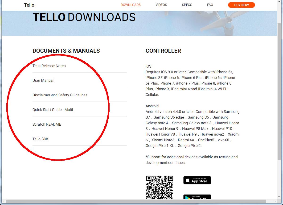 Tello App Android